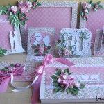 Różany projekt ślubny -różowy