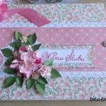 Album ślubny różowy