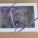 Zestaw: Fioletowe motyle nr 1